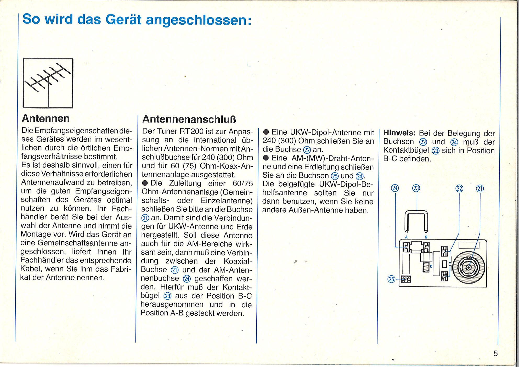 TV, Video & Audio Service Manual-Anleitung fr Telefunken RT 200 ...